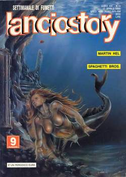 Copertina LANCIOSTORY ANNO 21 n.15 - LANCIOSTORY 1995   15, EDITORIALE AUREA