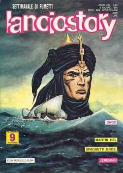 Copertina LANCIOSTORY ANNO 21 n.22 - LANCIOSTORY 1995   22, EDITORIALE AUREA