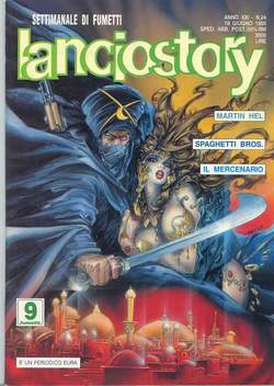 Copertina LANCIOSTORY ANNO 21 n.24 - LANCIOSTORY 1995   24, EDITORIALE AUREA