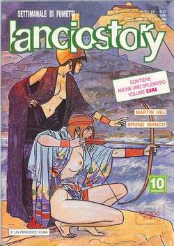 Copertina LANCIOSTORY ANNO 21 n.27 - LANCIOSTORY 1995   27, EDITORIALE AUREA