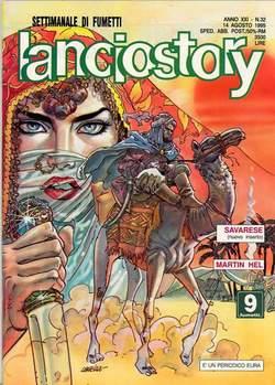 Copertina LANCIOSTORY ANNO 21 n.32 - LANCIOSTORY 1995   32, EDITORIALE AUREA