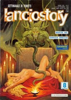 Copertina LANCIOSTORY ANNO 21 n.37 - LANCIOSTORY 1995   37, EDITORIALE AUREA