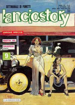 Copertina LANCIOSTORY ANNO 21 n.40 - LANCIOSTORY 1995   40, EDITORIALE AUREA