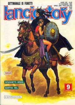 Copertina LANCIOSTORY ANNO 21 n.50 - LANCIOSTORY 1995   50, EDITORIALE AUREA