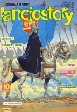 Copertina LANCIOSTORY ANNO 21 n.1 - LANCIOSTORY 1995    1, EDITORIALE AUREA
