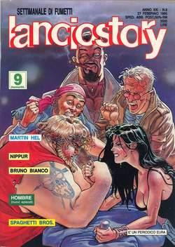Copertina LANCIOSTORY ANNO 21 n.8 - LANCIOSTORY 1995    8, EDITORIALE AUREA