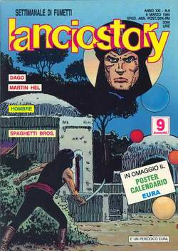 Copertina LANCIOSTORY ANNO 21 n.9 - LANCIOSTORY 1995    9, EDITORIALE AUREA