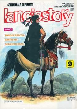 Copertina LANCIOSTORY ANNO 22 n.18 - LANCIOSTORY 1996   18, EDITORIALE AUREA