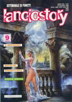 Copertina LANCIOSTORY ANNO 22 n.25 - LANCIOSTORY 1996   25, EDITORIALE AUREA