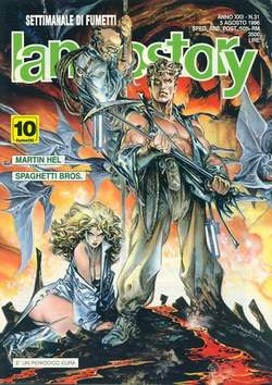 Copertina LANCIOSTORY ANNO 22 n.31 - LANCIOSTORY 1996   31, EDITORIALE AUREA