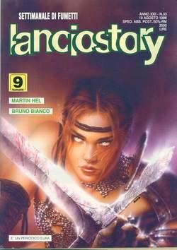Copertina LANCIOSTORY ANNO 22 n.33 - LANCIOSTORY 1996   33, EDITORIALE AUREA