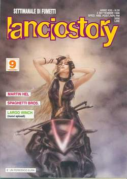 Copertina LANCIOSTORY ANNO 22 n.35 - LANCIOSTORY 1996   35, EDITORIALE AUREA