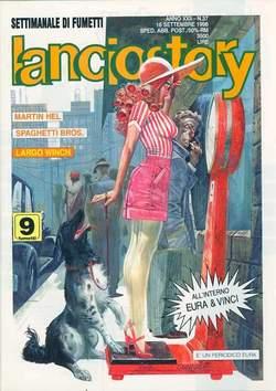 Copertina LANCIOSTORY ANNO 22 n.37 - LANCIOSTORY 1996   37, EDITORIALE AUREA