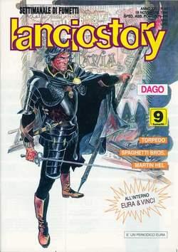 Copertina LANCIOSTORY ANNO 22 n.46 - LANCIOSTORY 1996   46, EDITORIALE AUREA