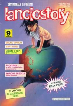 Copertina LANCIOSTORY ANNO 22 n.53 - LANCIOSTORY 1996   53, EDITORIALE AUREA