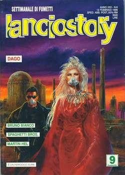 Copertina LANCIOSTORY ANNO 22 n.6 - LANCIOSTORY 1996    6, EDITORIALE AUREA