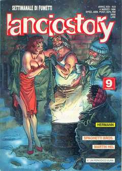 Copertina LANCIOSTORY ANNO 22 n.9 - LANCIOSTORY 1996    9, EDITORIALE AUREA