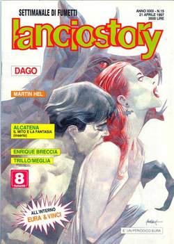 Copertina LANCIOSTORY ANNO 23 n.15 - LANCIOSTORY 1997   15, EDITORIALE AUREA