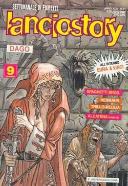 Copertina LANCIOSTORY ANNO 23 n.21 - LANCIOSTORY 1997   21, EDITORIALE AUREA