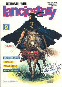 Copertina LANCIOSTORY ANNO 23 n.22 - LANCIOSTORY 1997   22, EDITORIALE AUREA