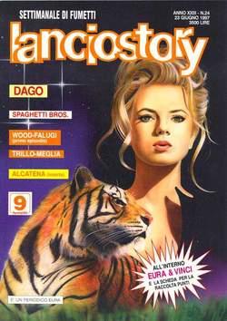 Copertina LANCIOSTORY ANNO 23 n.24 - LANCIOSTORY 1997   24, EDITORIALE AUREA