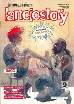 Copertina LANCIOSTORY ANNO 23 n.26 - LANCIOSTORY 1997   26, EDITORIALE AUREA