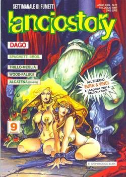 Copertina LANCIOSTORY ANNO 23 n.27 - LANCIOSTORY 1997   27, EDITORIALE AUREA