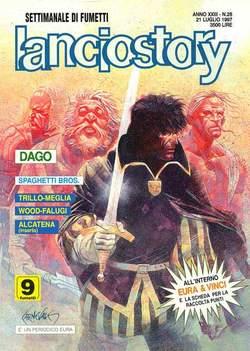 Copertina LANCIOSTORY ANNO 23 n.28 - LANCIOSTORY 1997   28, EDITORIALE AUREA