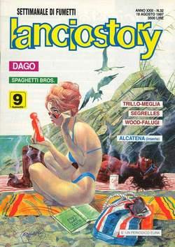 Copertina LANCIOSTORY ANNO 23 n.32 - LANCIOSTORY 1997   32, EDITORIALE AUREA