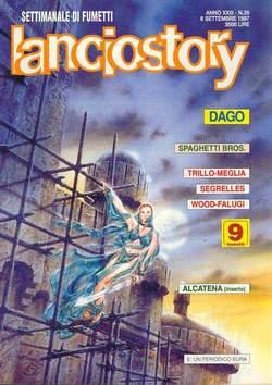 Copertina LANCIOSTORY ANNO 23 n.35 - LANCIOSTORY 1997   35, EDITORIALE AUREA