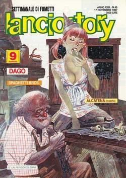 Copertina LANCIOSTORY ANNO 23 n.45 - LANCIOSTORY 1997   45, EDITORIALE AUREA