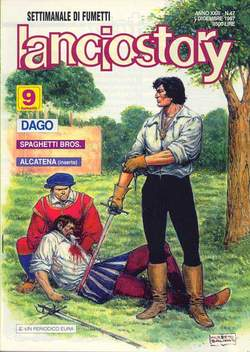 Copertina LANCIOSTORY ANNO 23 n.47 - LANCIOSTORY 1997   47, EDITORIALE AUREA