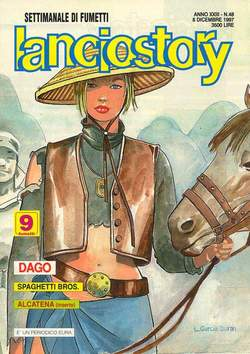 Copertina LANCIOSTORY ANNO 23 n.48 - LANCIOSTORY 1997   48, EDITORIALE AUREA