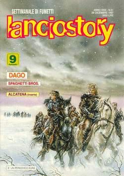 Copertina LANCIOSTORY ANNO 23 n.51 - LANCIOSTORY 1997   51, EDITORIALE AUREA