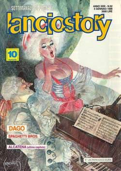 Copertina LANCIOSTORY ANNO 23 n.52 - LANCIOSTORY 1997   52, EDITORIALE AUREA