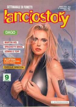 Copertina LANCIOSTORY ANNO 23 n.3 - LANCIOSTORY 1997    3, EDITORIALE AUREA