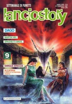 Copertina LANCIOSTORY ANNO 23 n.5 - LANCIOSTORY 1997    5, EDITORIALE AUREA