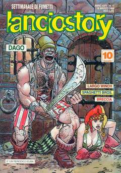 Copertina LANCIOSTORY ANNO 24 n.10 - LANCIOSTORY 1998   10, EDITORIALE AUREA