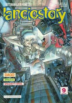 Copertina LANCIOSTORY ANNO 24 n.14 - LANCIOSTORY 1998   14, EDITORIALE AUREA
