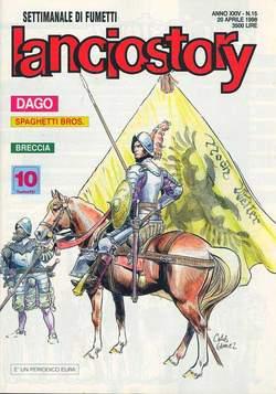 Copertina LANCIOSTORY ANNO 24 n.15 - LANCIOSTORY 1998   15, EDITORIALE AUREA