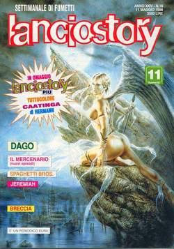 Copertina LANCIOSTORY ANNO 24 n.18 - LANCIOSTORY 1998   18, EDITORIALE AUREA