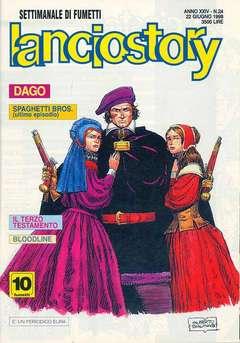 Copertina LANCIOSTORY ANNO 24 n.24 - LANCIOSTORY 1998   24, EDITORIALE AUREA