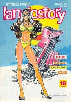 Copertina LANCIOSTORY ANNO 24 n.31 - LANCIOSTORY 1998   31, EDITORIALE AUREA