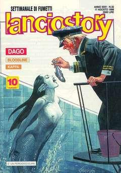 Copertina LANCIOSTORY ANNO 24 n.32 - LANCIOSTORY 1998   32, EDITORIALE AUREA