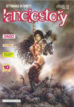Copertina LANCIOSTORY ANNO 24 n.45 - LANCIOSTORY 1998   45, EDITORIALE AUREA