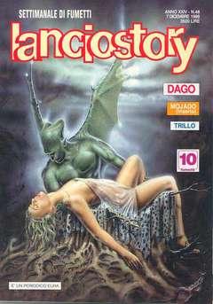 Copertina LANCIOSTORY ANNO 24 n.48 - LANCIOSTORY 1998   48, EDITORIALE AUREA