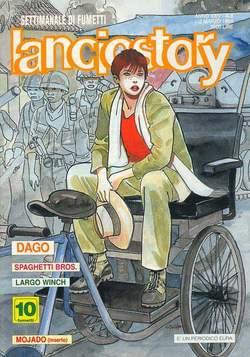 Copertina LANCIOSTORY ANNO 24 n.8 - LANCIOSTORY 1998    8, EDITORIALE AUREA