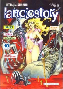 Copertina LANCIOSTORY ANNO 25 n.26 - LANCIOSTORY 1999   26, EDITORIALE AUREA
