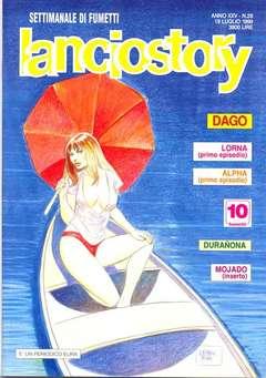 Copertina LANCIOSTORY ANNO 25 n.28 - LANCIOSTORY 1999   28, EDITORIALE AUREA