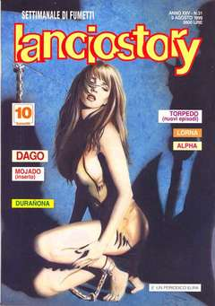 Copertina LANCIOSTORY ANNO 25 n.31 - LANCIOSTORY 1999   31, EDITORIALE AUREA